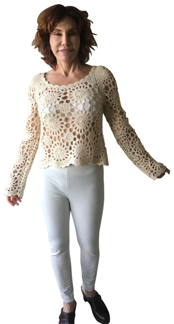 Nasty Gal Beige Sweater Nasty Gal Beige Sweater Image 1
