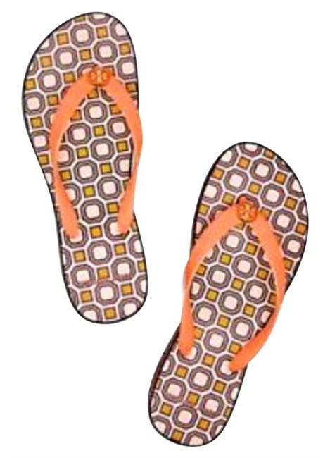 Item - Orange Octagon Thandie Flip Flop Sandals Size US 8 Regular (M, B)
