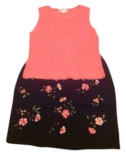 Casual Corner Annex Skirt Black and pink