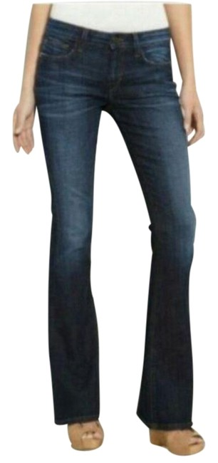 Item - Blue Visionaire Dark Wash Womens Boot Cut Jeans Size 29 (6, M)