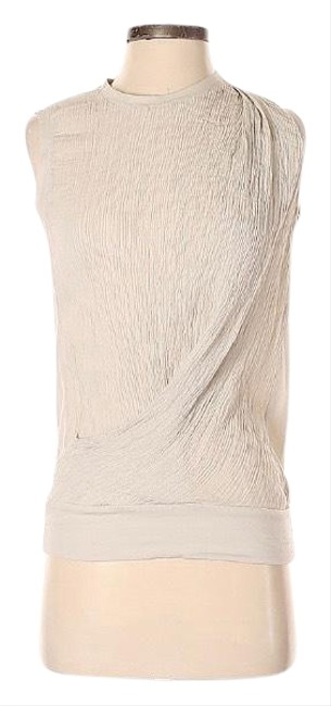 Item - Ivory Sleeveless Blouse Size 4 (S)