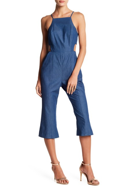 BCBGeneration Womens Cut-Out Romper