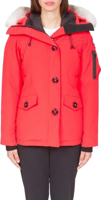 Item - Red Orange Montebello Parka 2530l Medium Torch Coat Size 8 (M)