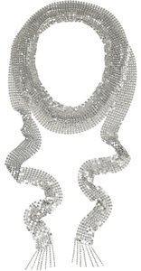 Isabel Marant Chain mail skinny scarf