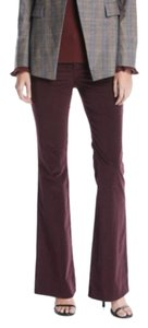Lafayette 148 New York Flare Pants red