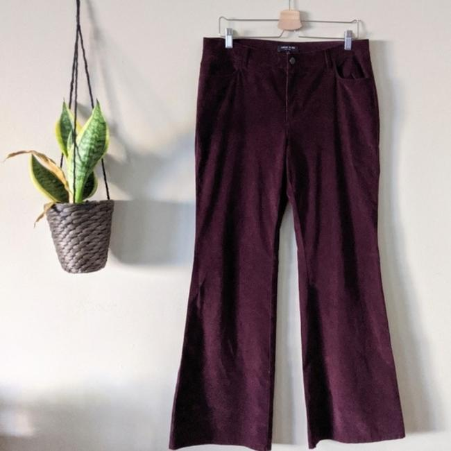 Lafayette 148 New York Flare Pants red Image 1