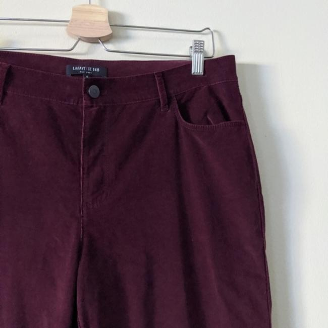 Lafayette 148 New York Flare Pants red Image 4