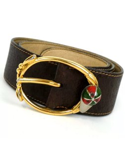Gucci Gucci cap buckle belt