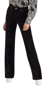 7 For All Mankind Trouser Pants black
