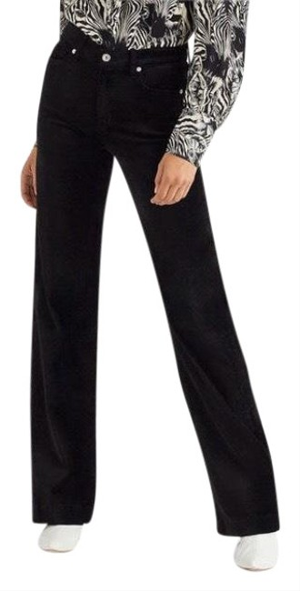 7 For All Mankind Trouser Pants black Image 0