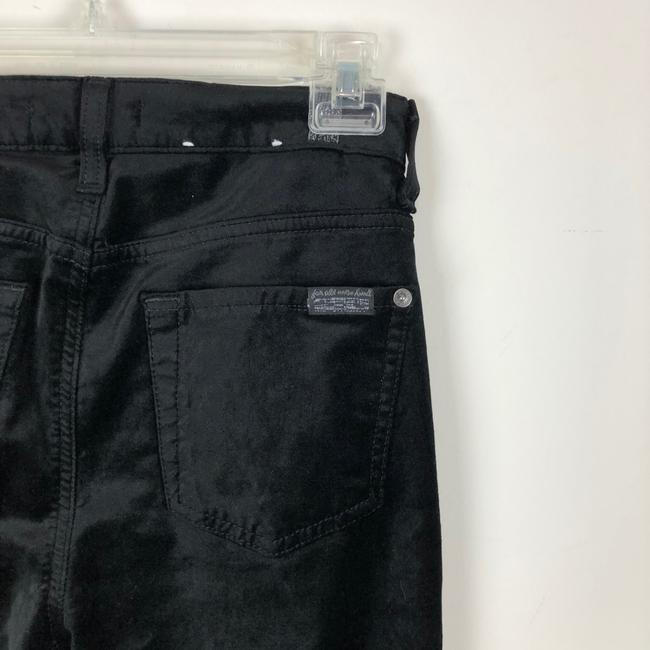 7 For All Mankind Trouser Pants black Image 10
