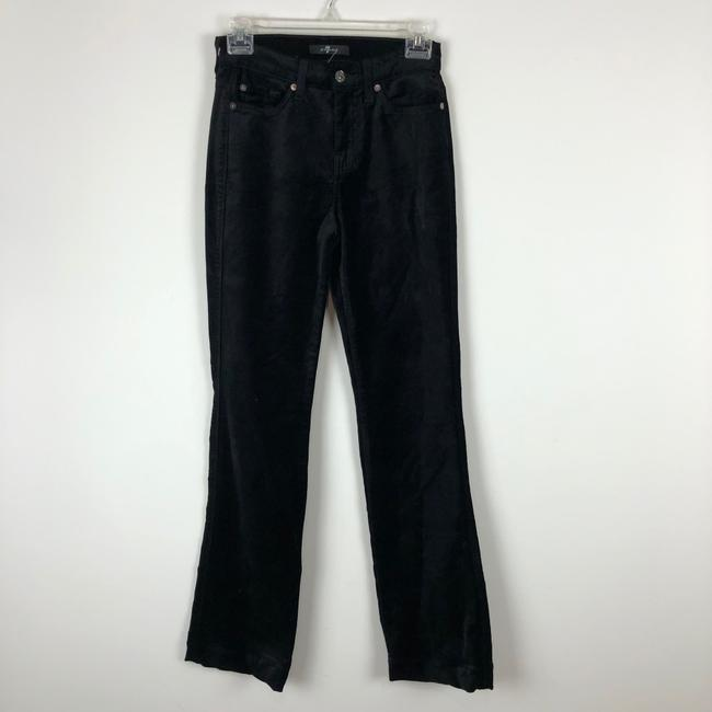 7 For All Mankind Trouser Pants black Image 4