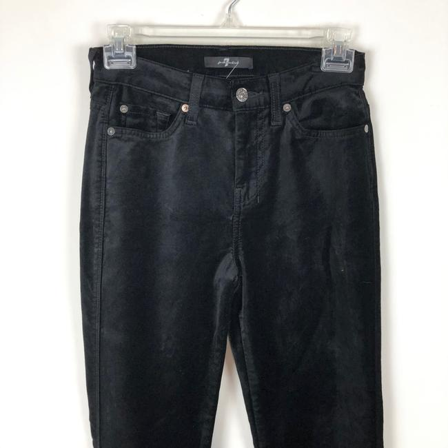 7 For All Mankind Trouser Pants black Image 6