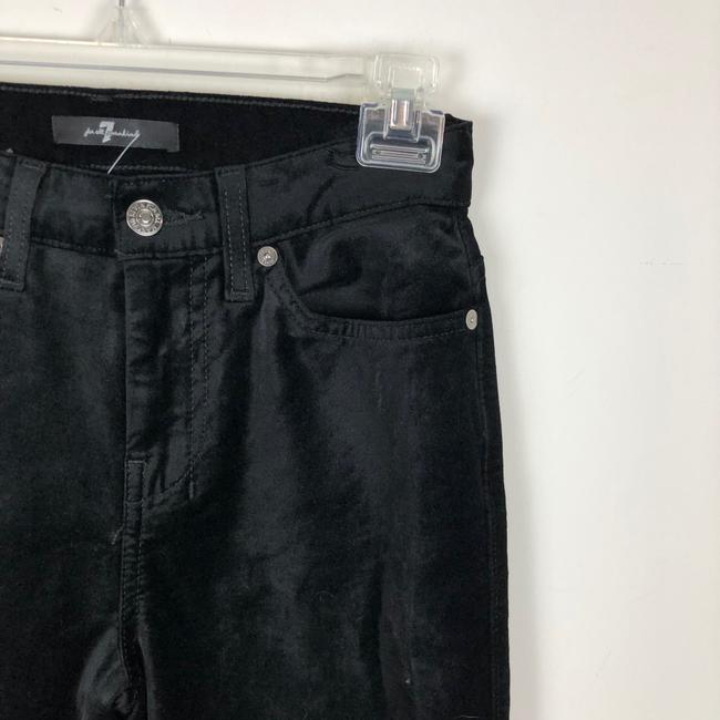 7 For All Mankind Trouser Pants black Image 7