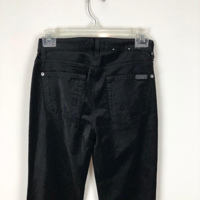 7 For All Mankind Trouser Pants black Image 8