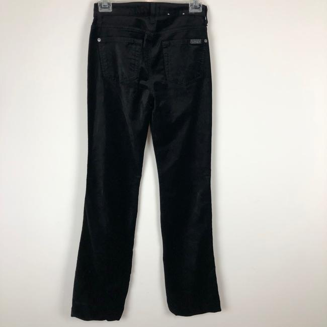 7 For All Mankind Trouser Pants black Image 9
