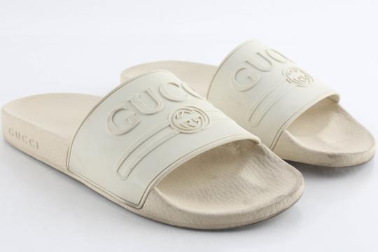 Gucci Off White Sandals Image 1