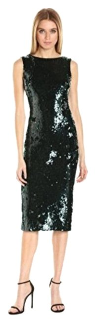 Item - Green Audrey' Sequin Body-con Cocktail Dress Size 12 (L)