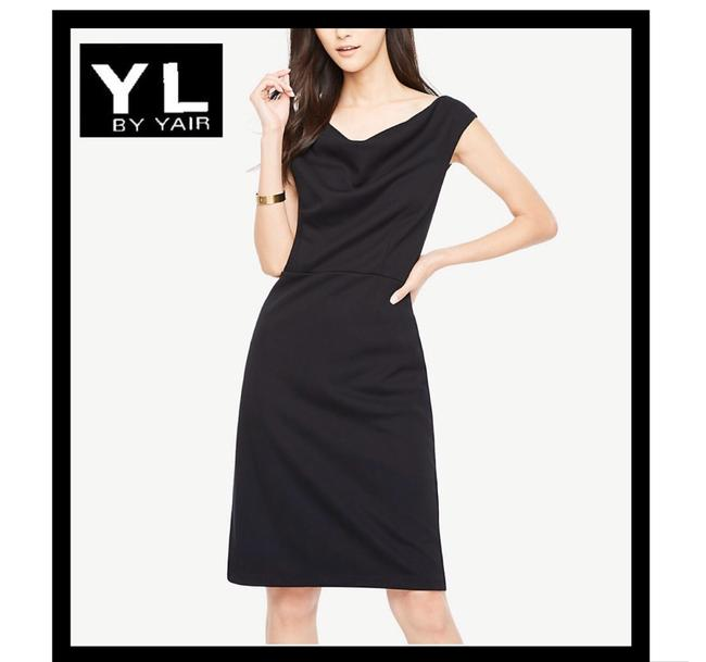 Preload https://img-static.tradesy.com/item/26330860/yl-by-yair-black-shift-mid-length-cocktail-dress-size-6-s-0-0-650-650.jpg