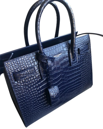 Saint Laurent Tote in Sapphire Image 0