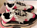 Balenciaga Pink black white Athletic Image 1