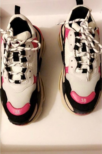 Balenciaga Pink black white Athletic Image 3