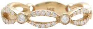 other .52CTW Natural VS2-SI1 / G-H DIAMONDS in 14K Solid Yellow Gold Ring