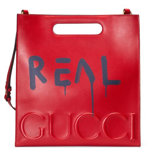 Gucci Tote in Red Image 1