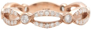 other .52CTW Natural VS2-SI1 / G-H DIAMONDS in 14K Solid Rose Gold Ring