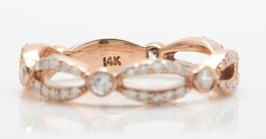 other .52CTW Natural VS2-SI1 / G-H DIAMONDS in 14K Solid Rose Gold Ring Image 3