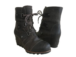 Sorel Wedge Water-resistant Snow Rain Grill/Black Boots