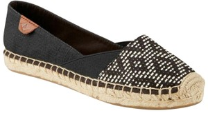 Sperry Top-Sider Comfort Loafer Espadrille Black Flats