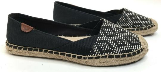 Sperry Top-Sider Comfort Loafer Espadrille Black Flats Image 1