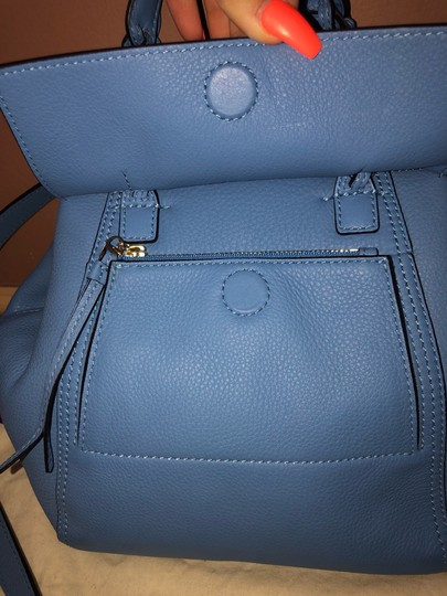 Tory Burch Satchel in Blue Image 3