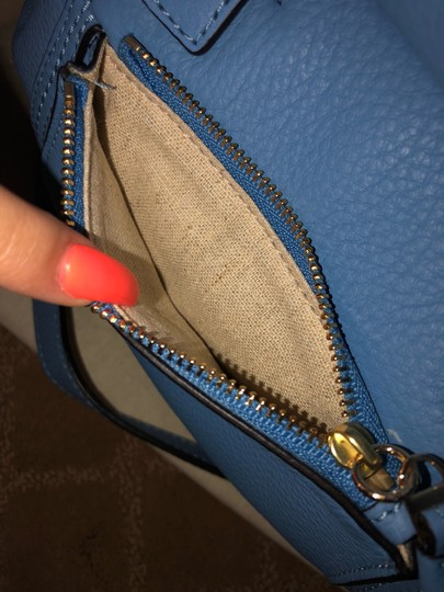 Tory Burch Satchel in Blue Image 4