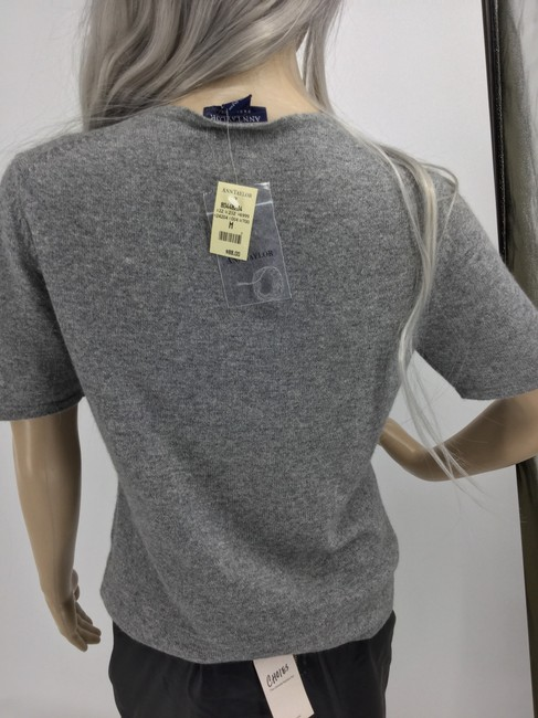 Ann Taylor Top Gray Image 2