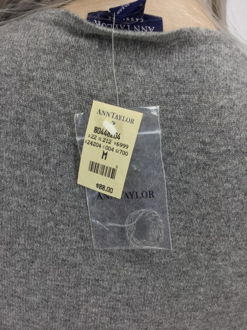 Ann Taylor Top Gray Image 3