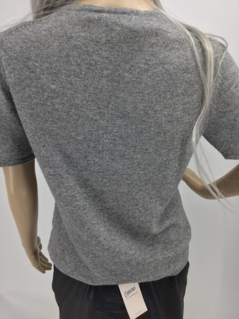 Ann Taylor Top Gray Image 4