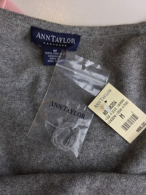 Ann Taylor Top Gray Image 5
