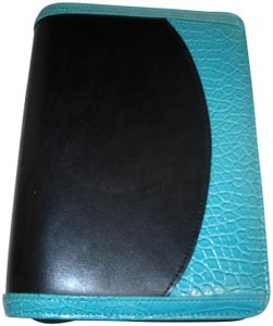Franklin Covey 365 Faux Leather Croc Compact Ziparound Planner Binder Agenda