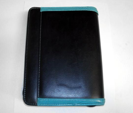 Franklin Covey 365 Faux Leather Croc Compact Ziparound Planner Binder Agenda Image 1