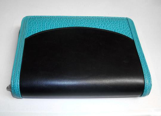 Franklin Covey 365 Faux Leather Croc Compact Ziparound Planner Binder Agenda Image 6