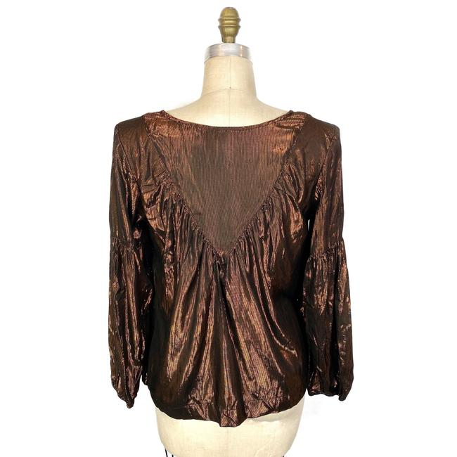 Anthropologie Top Brown Image 2