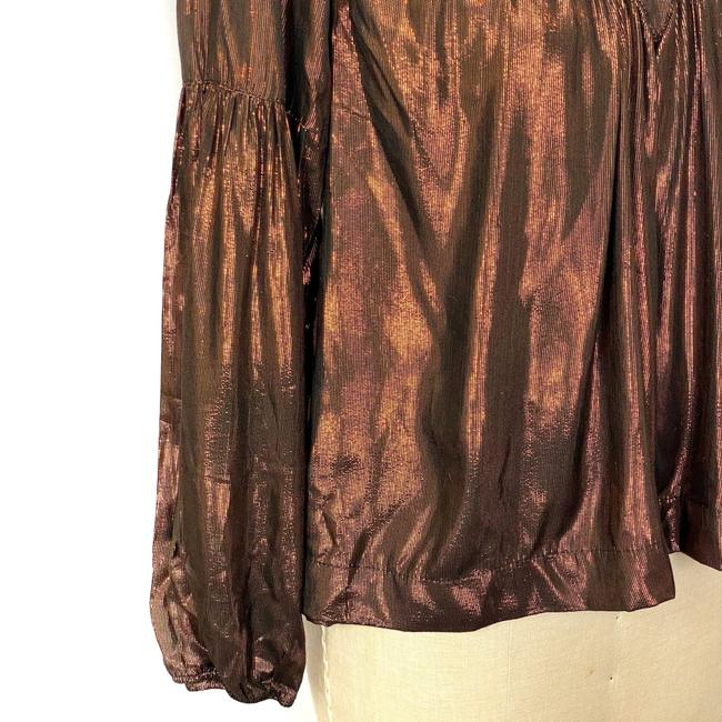 Anthropologie Top Brown Image 5