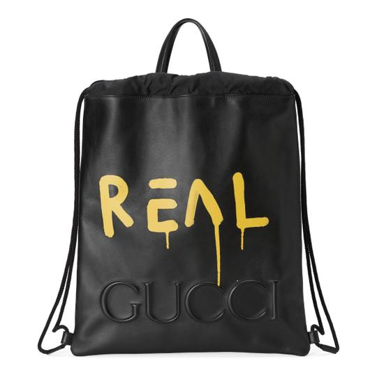 Preload https://img-static.tradesy.com/item/26331076/gucci-drawstring-guccighost-black-leather-backpack-0-0-540-540.jpg