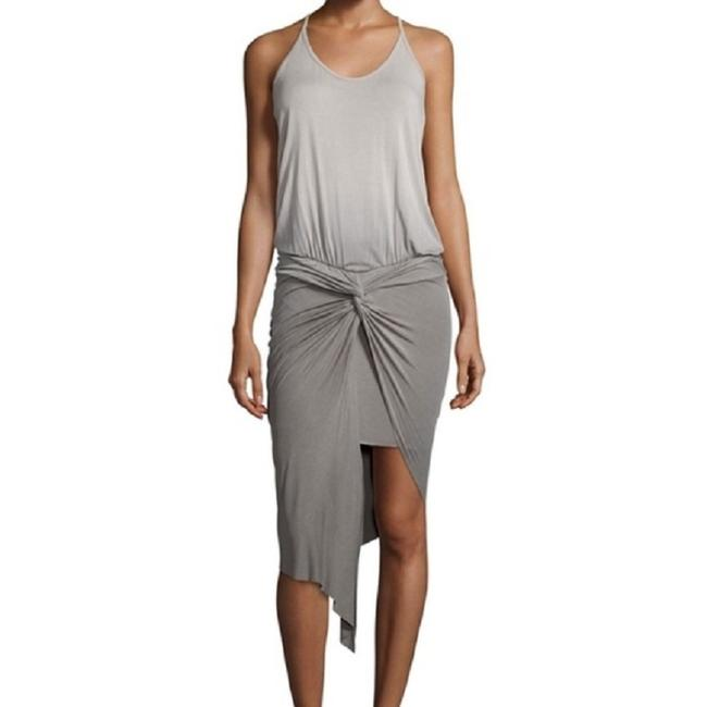 Young Fabulous & Broke Ombre Hi Lo Asymmetric Ruched Racer-back Dress Image 1