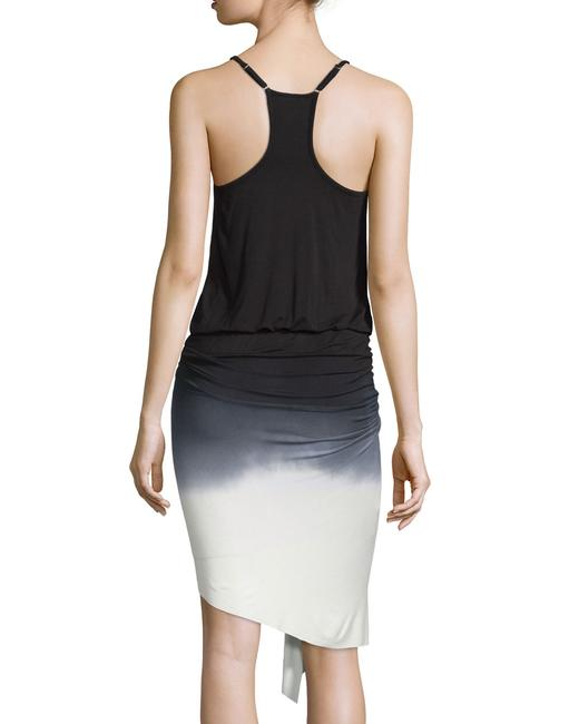Young Fabulous & Broke Ombre Hi Lo Asymmetric Ruched Racer-back Dress Image 2