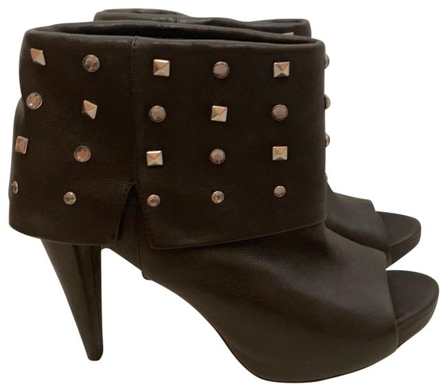 Vince Camuto Black Aviator Sheep Boots/Booties Size US 7.5 Regular (M, B) Vince Camuto Black Aviator Sheep Boots/Booties Size US 7.5 Regular (M, B) Image 1