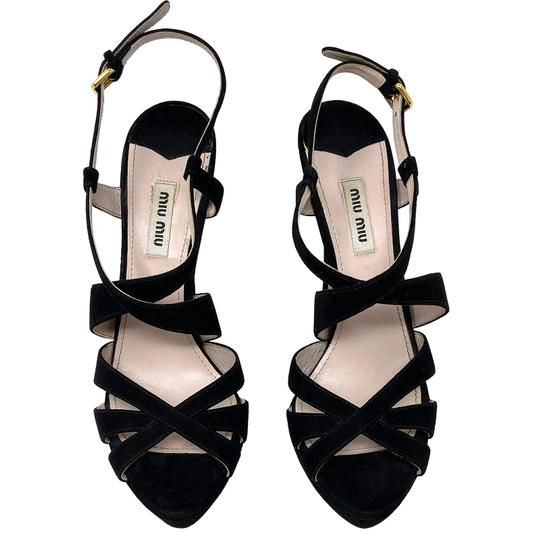 Miu Miu black Sandals Image 1