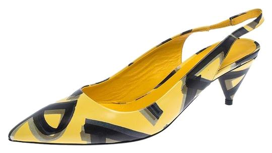 Preload https://img-static.tradesy.com/item/26331196/burberry-yellow-yellowblack-leather-morson-slingback-sandals-size-eu-39-approx-us-9-regular-m-b-0-10-540-540.jpg